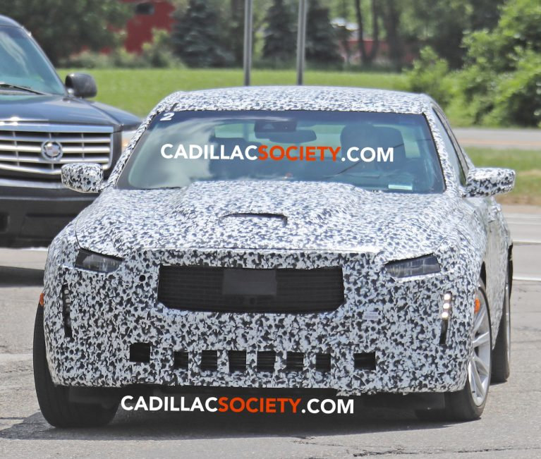 Cadillac CT5 Spied Testing With Production Headlights