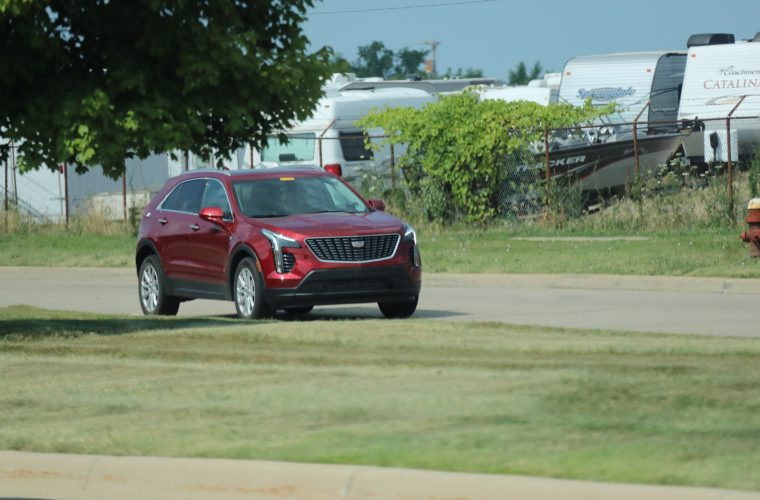 Base Model 2019 Cadillac XT4 Caught In Luxury Trim: Image Gallery