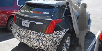 2020 Cadillac XT5 Interior Spy Photo Suggests Notable Cabin Updates
