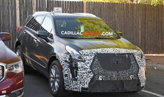 2020 Cadillac XT5 Facelift Spied Up Close And Personal