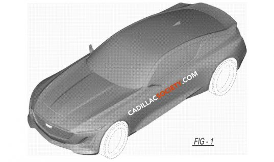 Cadillac CT5 Coupe Revealed In New Design Patent
