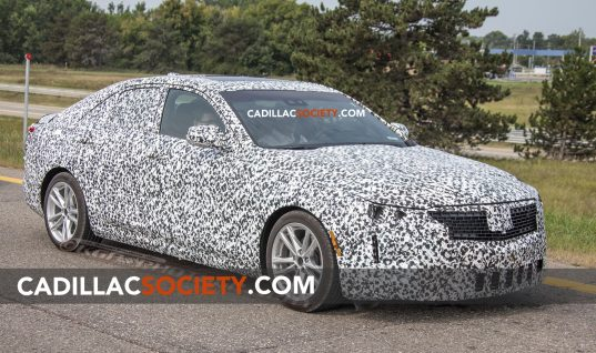 Cadillac CT4 Spy Photos Reveal Three Distinct Trim Levels: Mega Photo Gallery