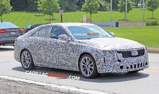Cadillac CT5 Sheds Camo In Latest Round Of Spy Shots