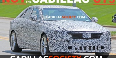 These Spy Shots Actually Show The Cadillac CT4, Not The CT5