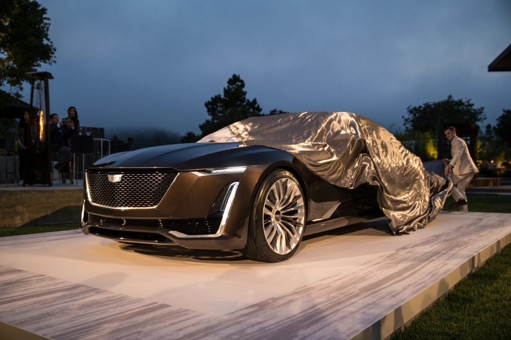 Cadillac Escala concept, which is said to influence the design of the Celestiq