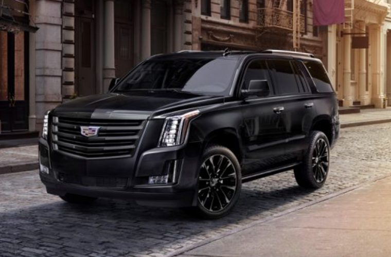 2019 cadillac escalade sport brings aggressive black accent look