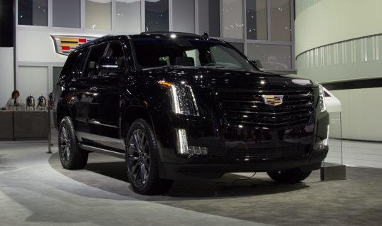 Live Photo Gallery Of Cadillac's 2019 Escalade Sport