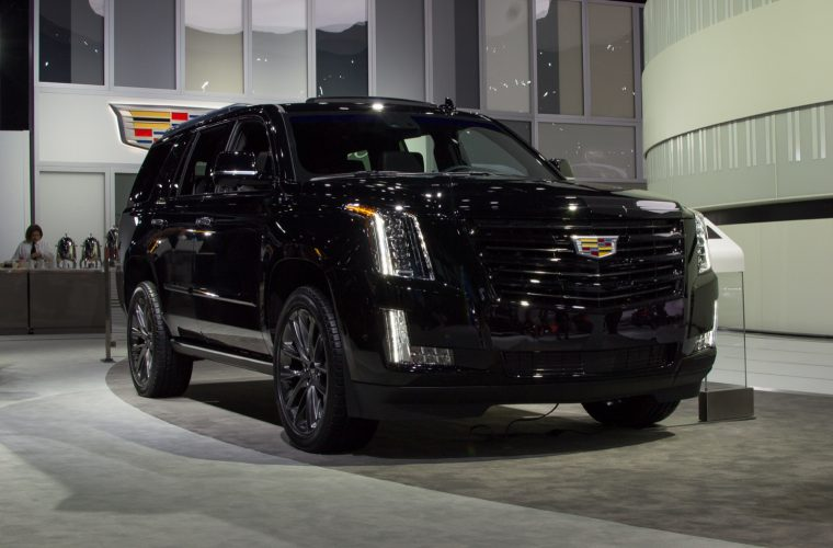 Live Photo Gallery Of Cadillac's New Escalade Sport