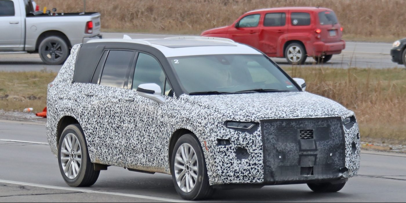Spy Shots Show Cadillac XT6 Interior For The First Time