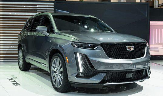 2020 Cadillac XT6 Seats 7 Passengers Standard, 6 Optional