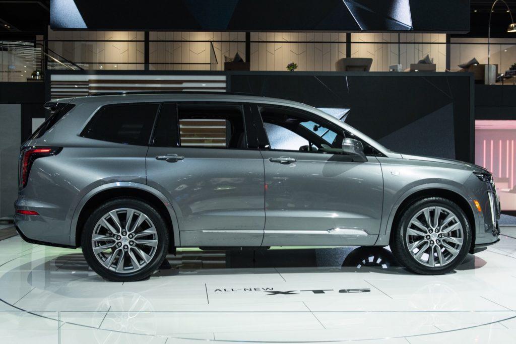 2020 Cadillac Xt6 To Seat Seven Passengers Standard