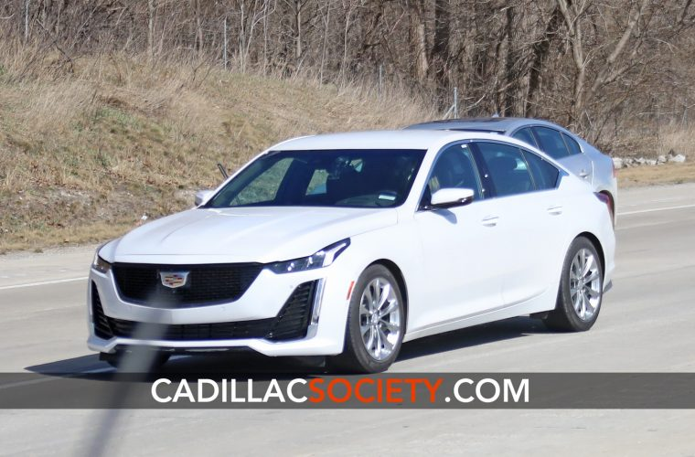 "Here Are The Very First ""In The Wild"" Pictures Of The Cadillac CT5"