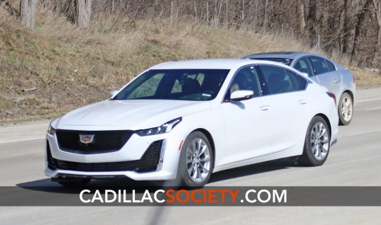 Cadillac CT5 Color Palette To Include Summit White