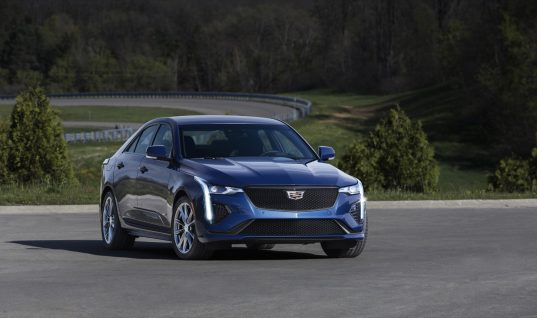 Cadillac CT4-V Now Arriving In Dealerships