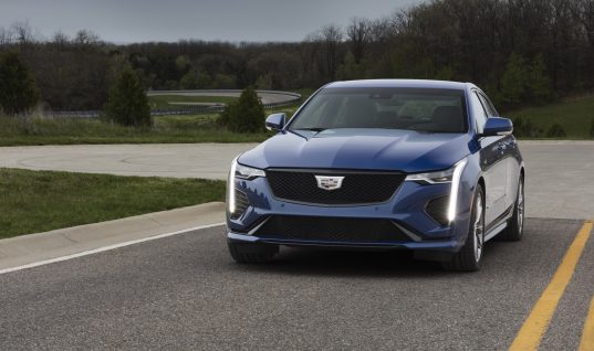 Cadillac CT4-V Won't Receive Manual Transmission