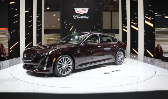 2020 Cadillac CT5 Introduces Unique New Door Handles: Video
