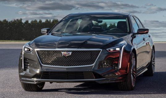 Cadillac CT6-V Gets Various Changes For 2020 Model Year