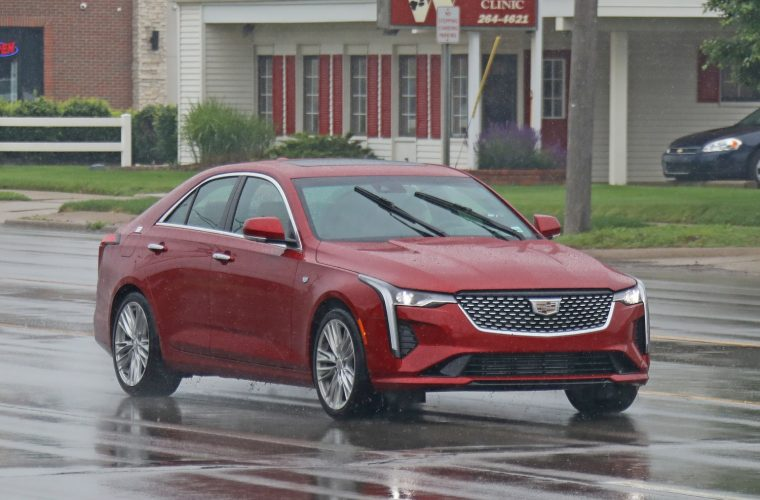 Cadillac CT4 Makes Unofficial Debut In New Spy Shots