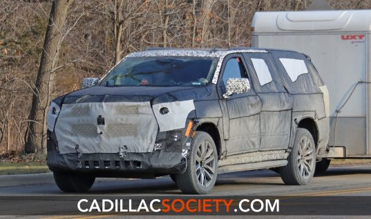 2021 Cadillac Escalade To Feature Push-Button Gear Selector