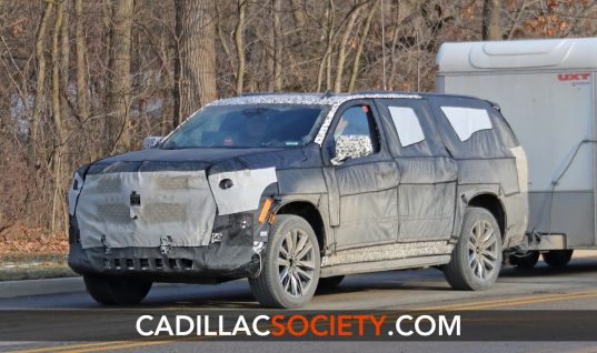 "Next-Gen Cadillac Escalade To Feature ""Huge"" Center Screen"
