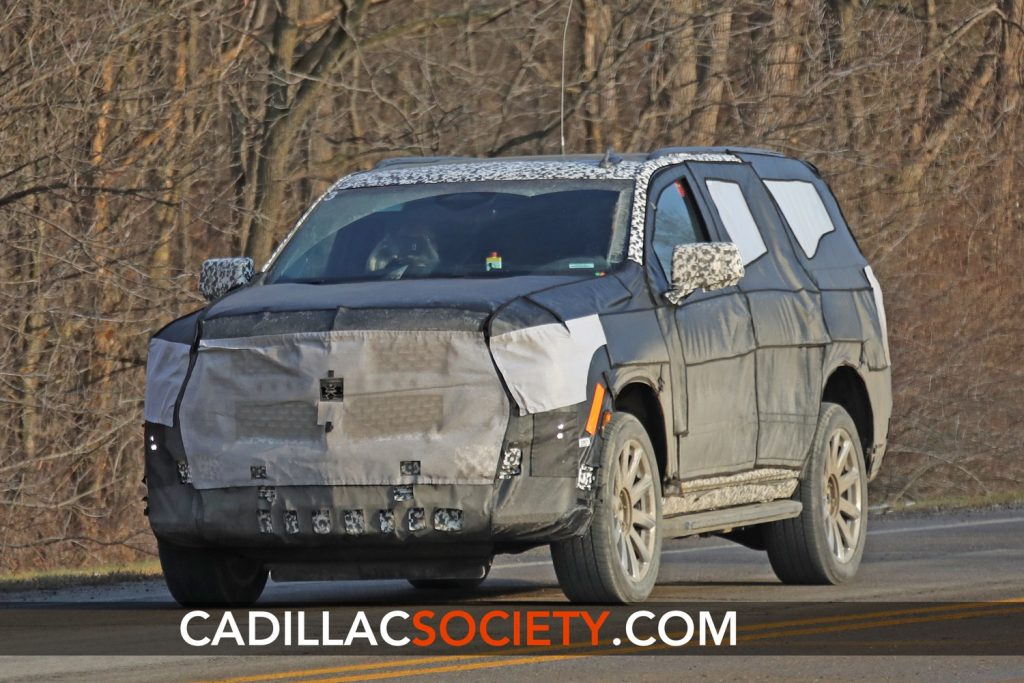 Some have labeled spy shots, similar to the one seen here, as an early prototype of the upcoming Escalade-V. But this isn't it.
