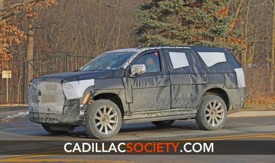 Fifth-Generation 2021 Cadillac Escalade Interior Spied