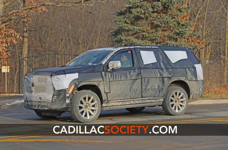 Fifth-Generation 2021 Cadillac Escalade Interior Spied