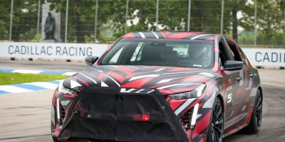 Cadillac CT5-V Blackwing Prototypes Raid Car Meet: Video
