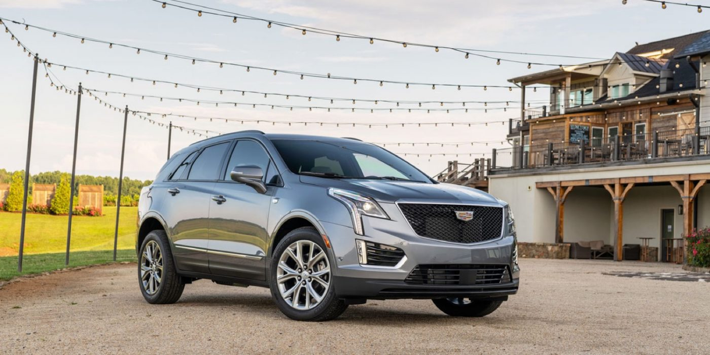 Check Out The Cool Speaker Grilles On The Cadillac XT5 And XT6