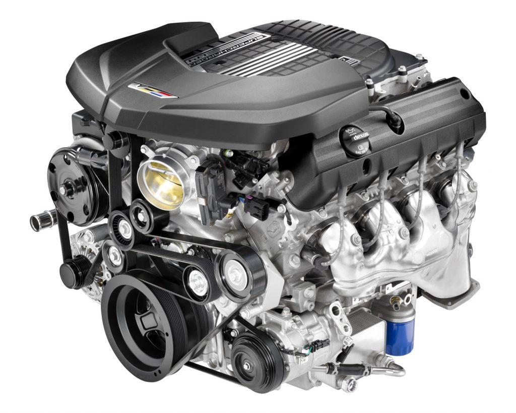 Supercharged 6.2L V8 LT4 engine