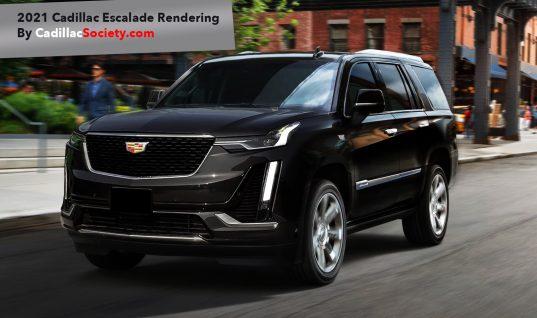 2021 Cadillac Escalade Rendered