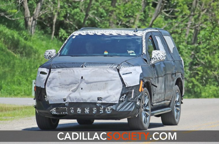 New Spy Shots Give Best Look Yet At 2021 Cadillac Escalade