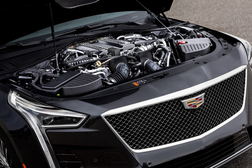 Blackwing V8 in the Cadillac CT6-V