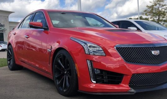 Last Ever Cadillac CTS-V Finished In Velocity Red