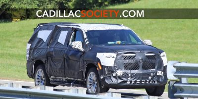 2021 Cadillac Escalade Spied With Production Intent Grille