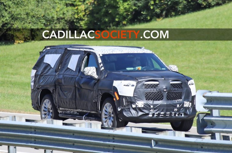 2021 Cadillac Escalade Spied With Paddle Shifters