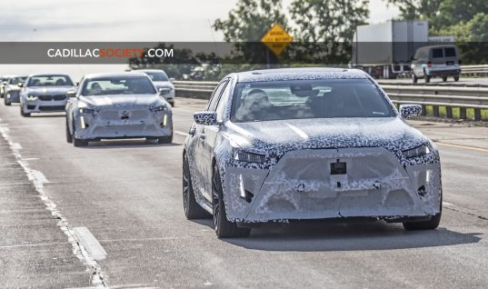 Cadillac CT5-V Blackwing Prototype Spied With New Fascia And Muscle-Bound Lines