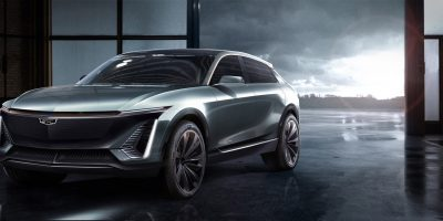 Light-Up Cadillac Logo Easter Egg Found On Concept EV Crossover