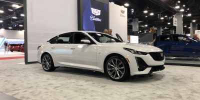 2020 Cadillac CT5 In Summit White: Live Photo Gallery