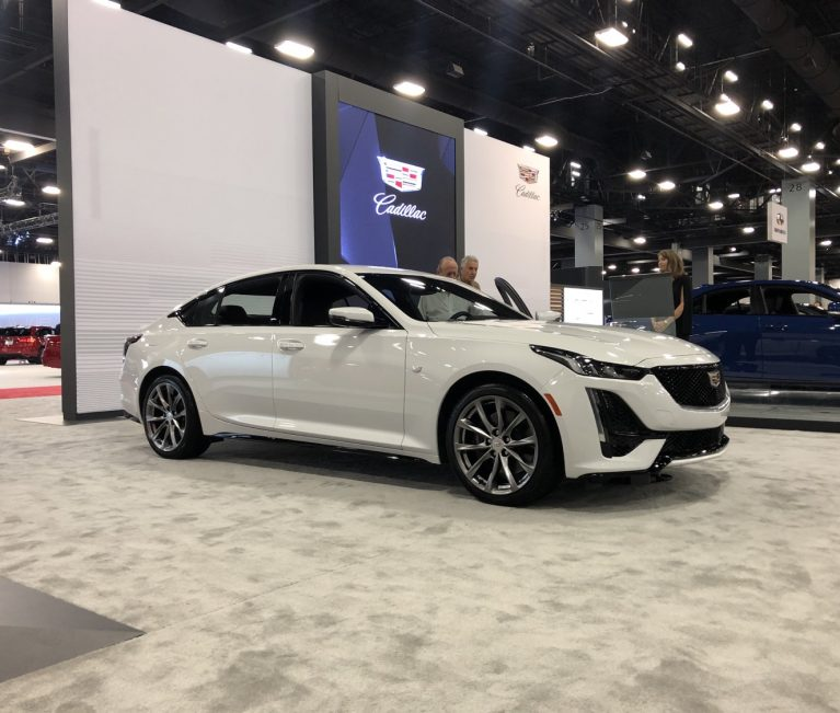 2020 Cadillac CT5 In Summit White – Live Photo Gallery