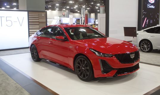 Cadillac CT5-V In Velocity Red: Live Photo Gallery