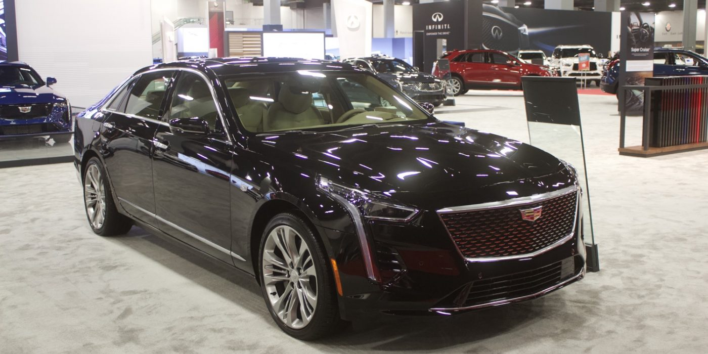 2020 Cadillac CT6 Spotted With 800T Badge On The Trunk