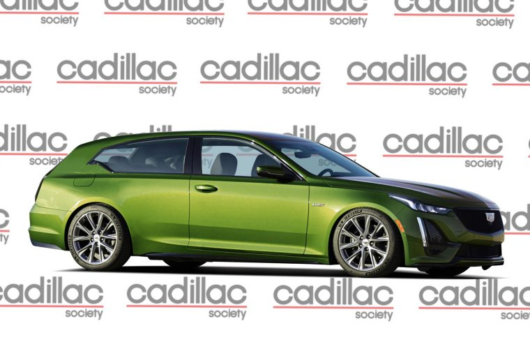 We Render A Hypothetical Cadillac CT5-V Shooting Brake