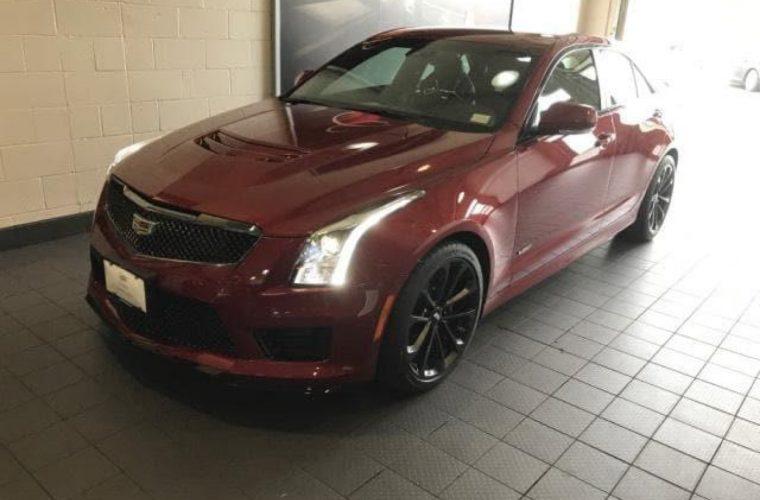 2018 Cadillac ATS-V Sedan Red Obsession Tintcoat