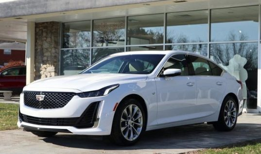 First Cadillac CT5 Units Begin To Arrive At Dealers