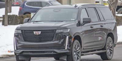2021 Cadillac Escalade ESV Makes Unofficial Debut