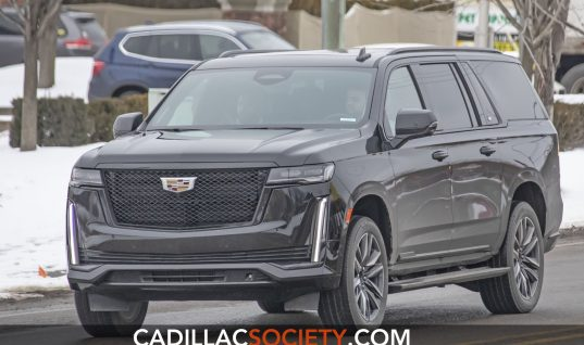 2021 Cadillac Escalade ESV Makes Unofficial Debut