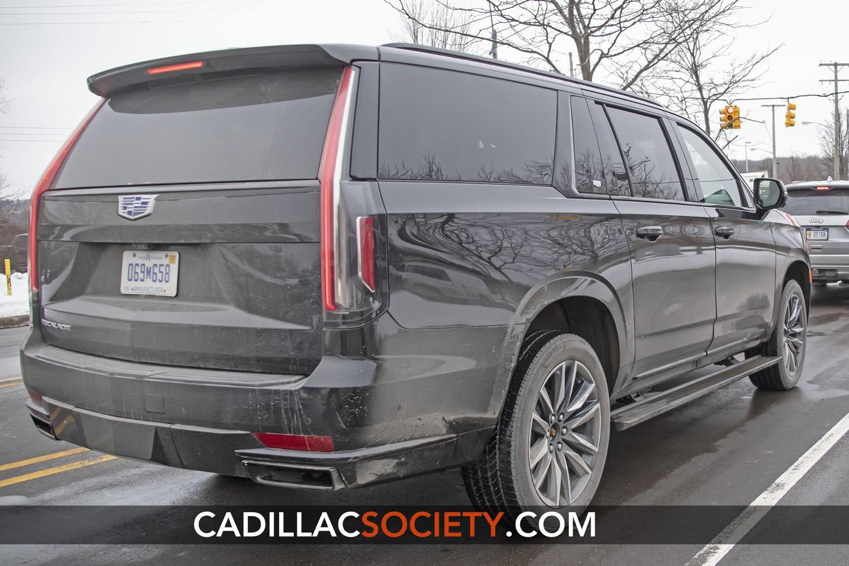 2021 Cadillac Escalade V Ext Esv Images