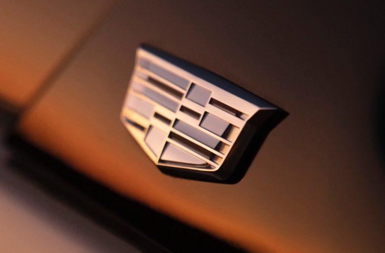 2021 Cadillac Escalade Onyx Package Features Gray Cadillac Logos