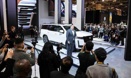 2021 Cadillac Escalade Makes Public Debut At 2020 Toronto Auto Show